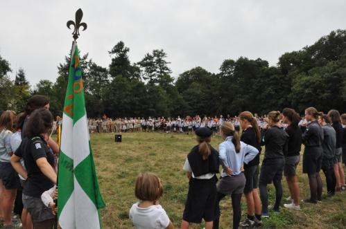 Rassemblement scouts unitaires de france Anne de bretagne